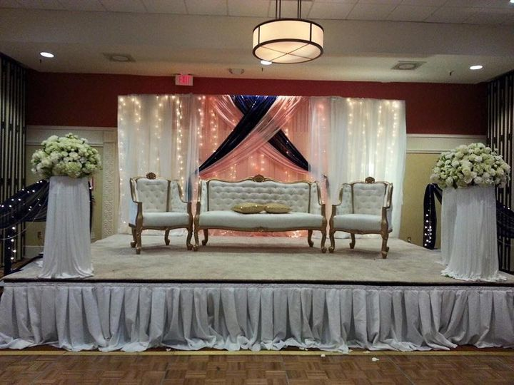 Backdrop draping