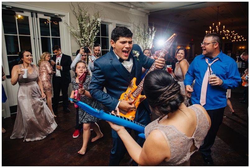Groovin' on the dance floor