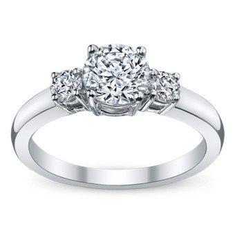 Tri diamond ring