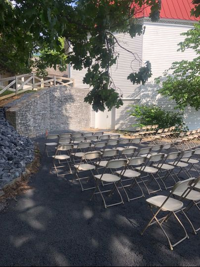 Grey Rock Wall Ceremony