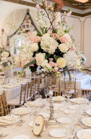 Stunning floral centerpieces