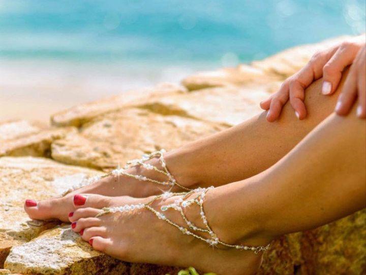 Tmx 1454021277382 Bridal Barefoot Sandals Olivia Burlington wedding jewelry