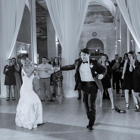 Fun filled first dance