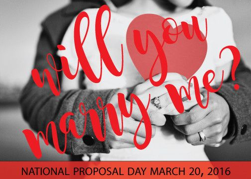 national proposal day 2016