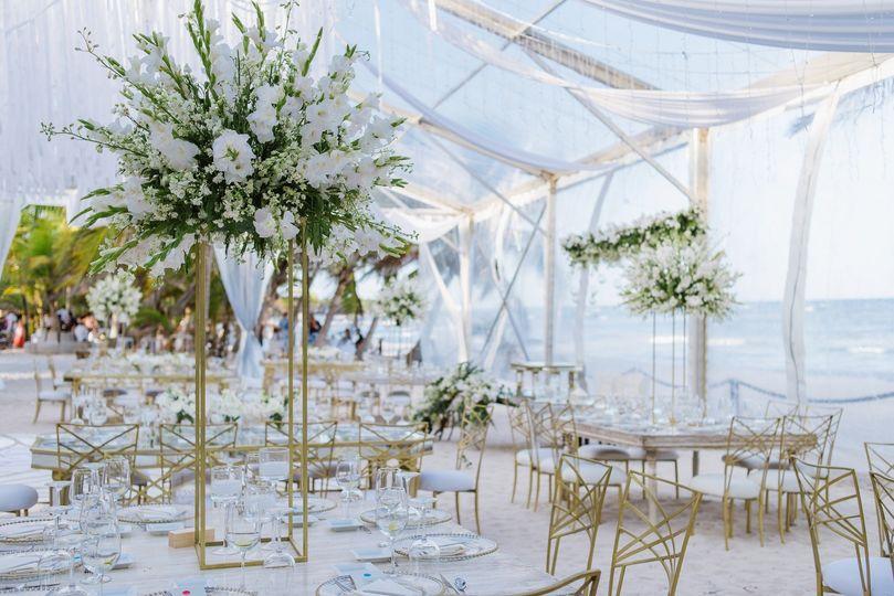 Riviera Maya Glam Wedding
