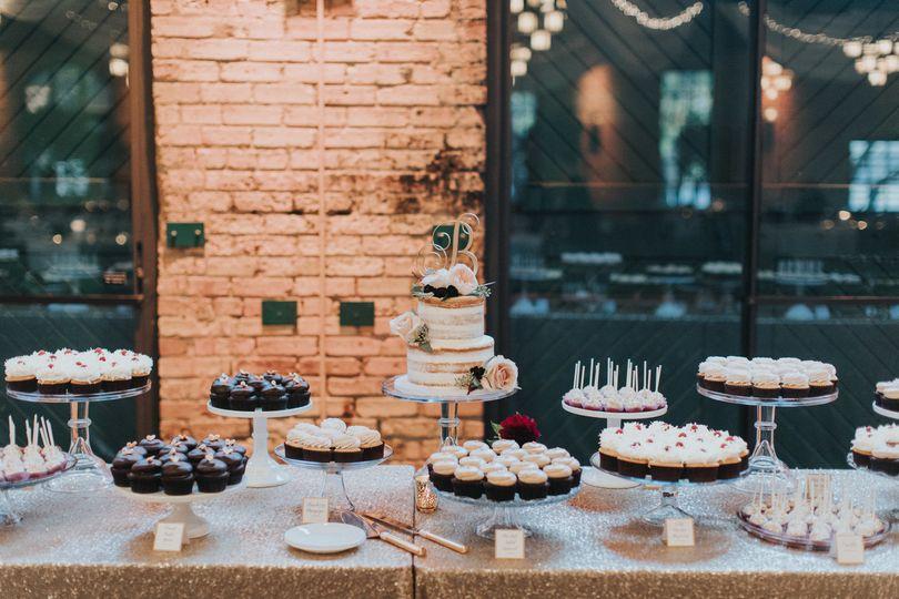 Wedding Dessert TablePhoto by Russell Heeter