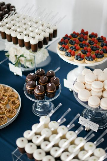 Miniature DessertsPhoto by Melissa Oholendt