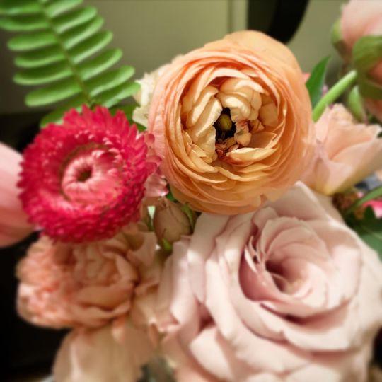 Fine detailed florals
