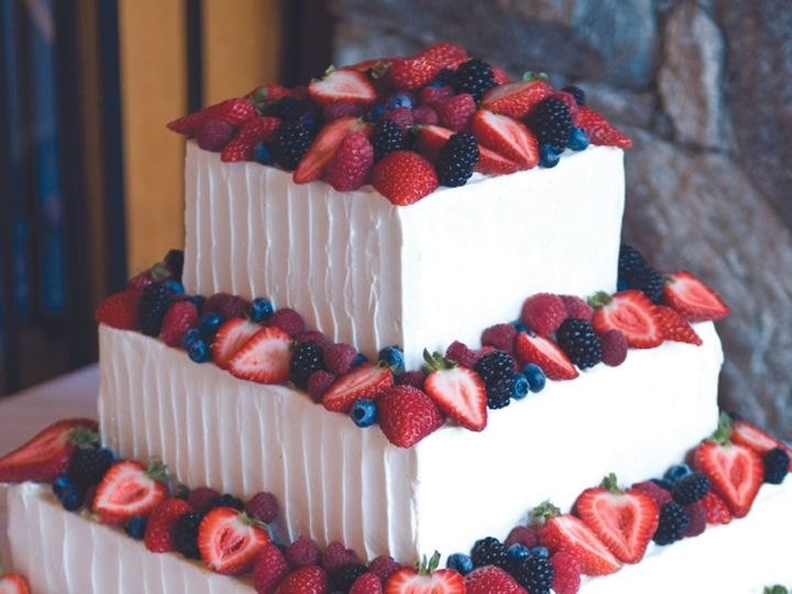 Tmx 1376751761643 Wedding Cake With Fresh Fruit Towson, Maryland wedding cake