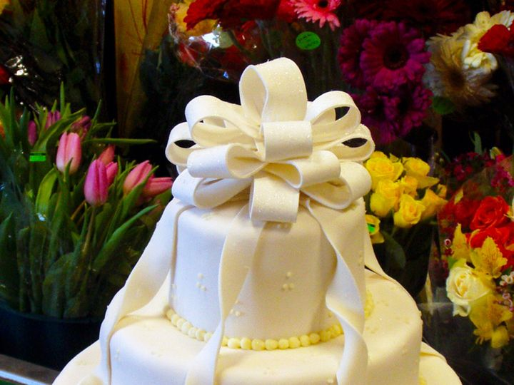 Tmx 1376751788890 Weddingcakefondant2 Lg Towson, Maryland wedding cake