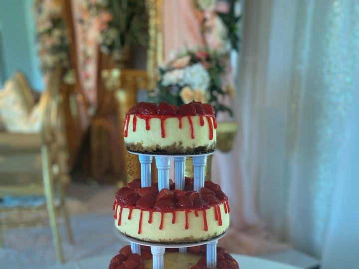 Tmx Strawberry Cheesecake Tiered Cake 51 141893 160521503314395 Towson, Maryland wedding cake