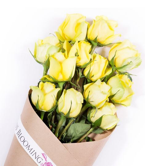 Yellow Elegant Luxury Wedding Roses