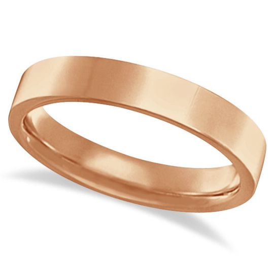 Flat Comfort Fit Plain Ring Wedding Band  A traditional collection of flat wedding rings, 2mm-10mm...