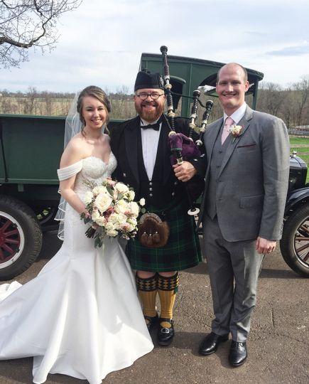A rustic farm wedding