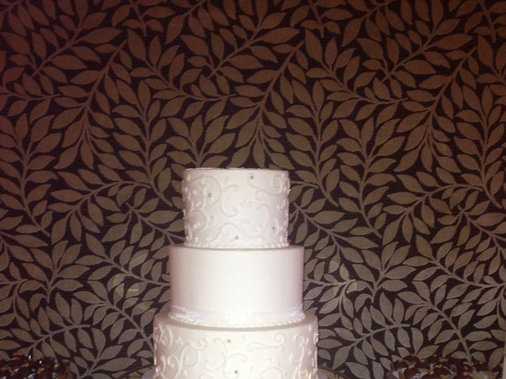 Tmx 1413946536228 Flavia Wedding Cake Vero Beach wedding cake
