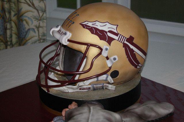 Tmx 1413946545452 Fsu Football Helmet Vero Beach wedding cake