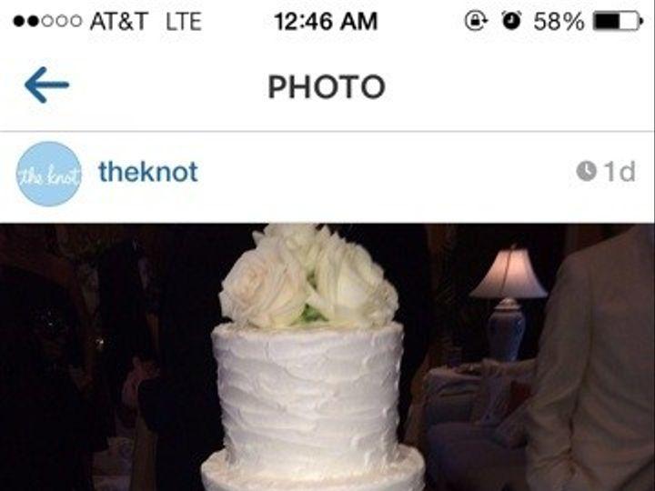 Tmx 1413946567794 Knot Cake Vero Beach wedding cake