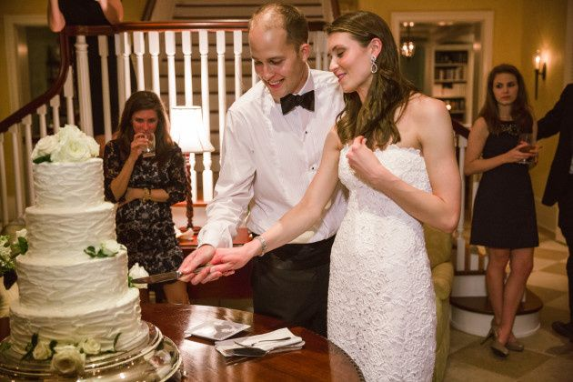 Tmx 1413946571324 Lindsay Casson Cutting Cake Vero Beach wedding cake