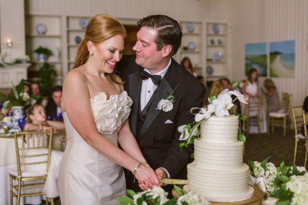 Tmx 1413946577831 Lindsey Perkins Cutting Cake Vero Beach wedding cake