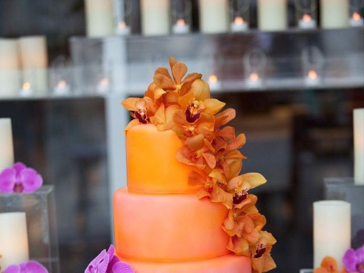 Tmx 1413946580443 Ombre Costa Cake Vero Beach wedding cake