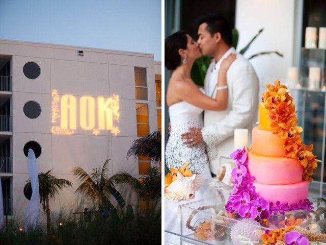 Tmx 1413946584768 Ombre Costa Cake Couple Vero Beach wedding cake