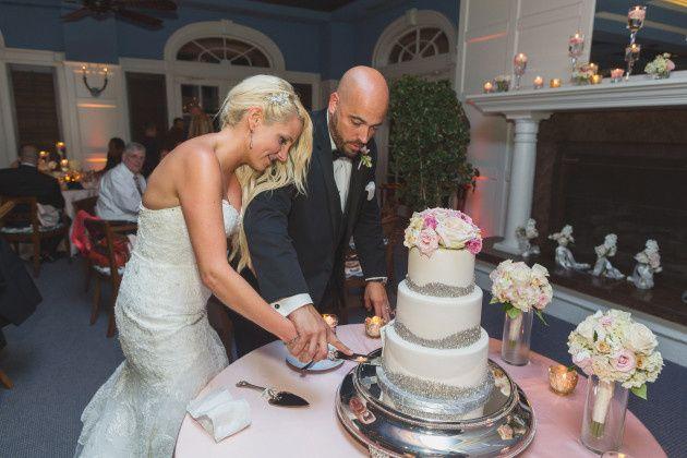 Tmx 1413950414526 Cutting Silver Dragee Pic Vero Beach wedding cake