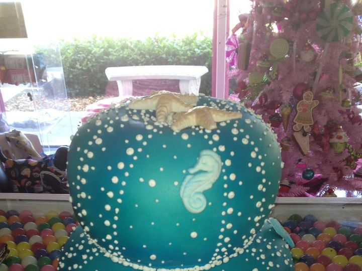 Tmx 1413951035226 Img2613 Vero Beach wedding cake