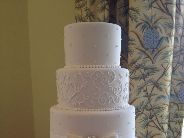 Tmx 1413952453393 Img3368 Vero Beach wedding cake