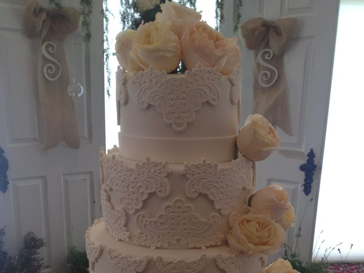 Tmx 1413953758405 Img4929 Vero Beach wedding cake