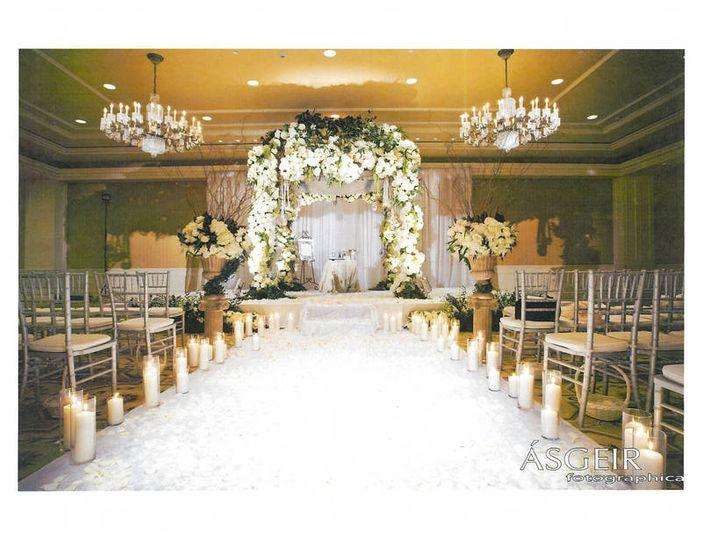 Monte Lago Ballroom ceremony