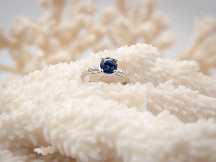 Tmx 6mm Round Sapphire Tapered Diamond Baguettesaurum Jewelers Copy 51 1056893 V1 Buffalo, NY wedding jewelry