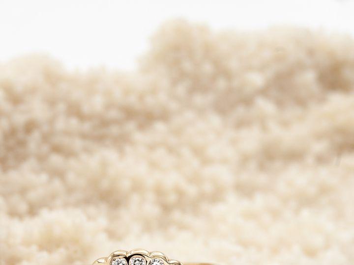Tmx Aurum Jewelers Sapphire Cabochon Sidestones Yellow Gold  51 1056893 Buffalo, NY wedding jewelry