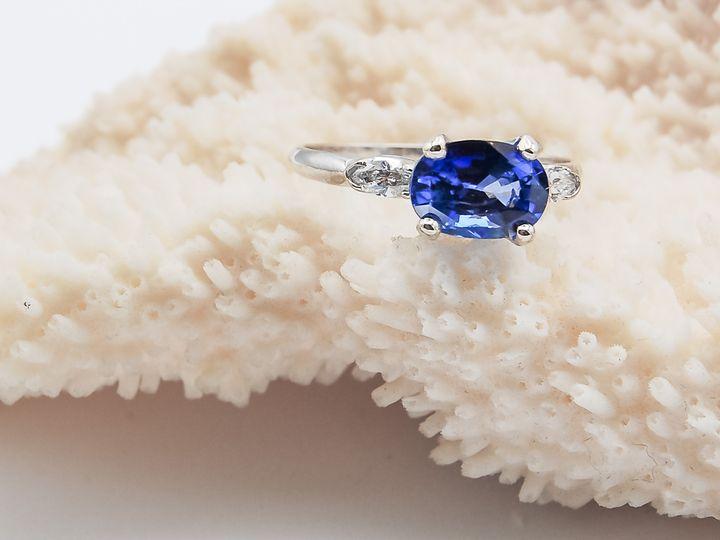 Tmx Custom Oval Sapphire Ring Aurum Jewelers  51 1056893 Buffalo, NY wedding jewelry