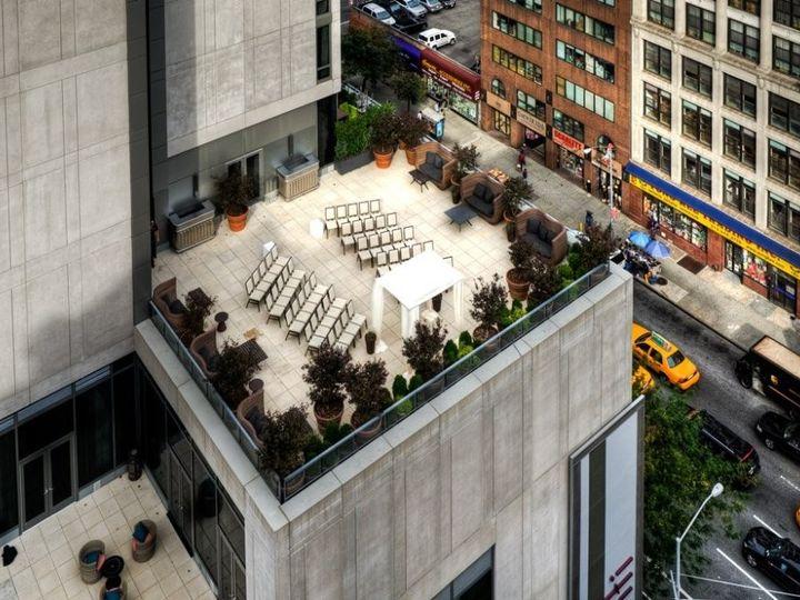 Tmx 1385503620224 Veranda Wedding Ceremony From Abov New York, NY wedding venue