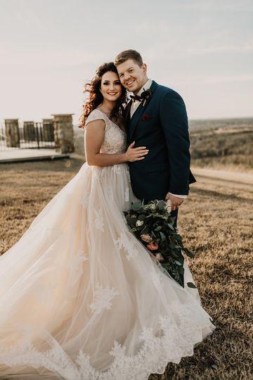 Romantic Conway Wedding