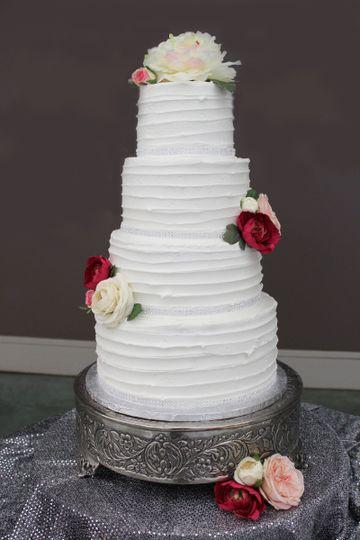 Delightful Bites Cakery Wedding Cake Augusta Ga Weddingwire