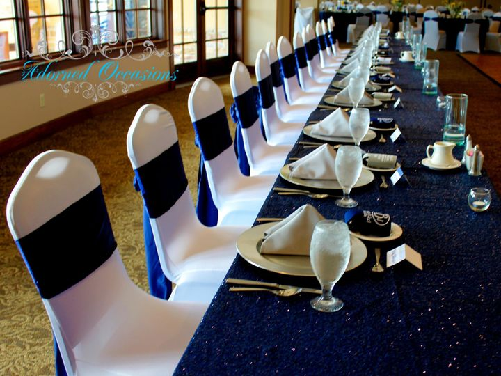 Tmx 1507951298515 Navy And White Headtable Greensboro, NC wedding eventproduction