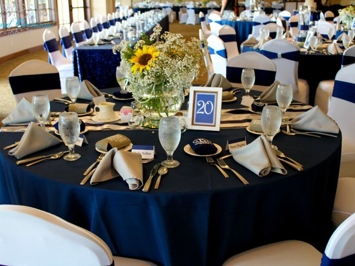 Tmx 1507951316297 Navy And White Room 1 Greensboro, NC wedding eventproduction