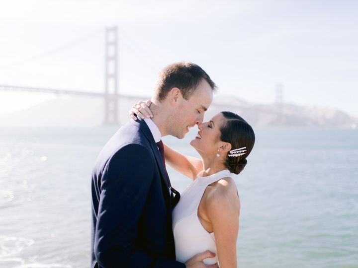 Bay Area Bride and Groom
