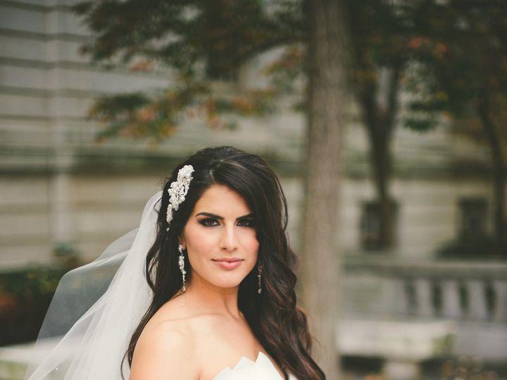 Tmx 1418767141438 Sarah Profile With Bouquet. T Spinelli. Me And Lau Southington, Connecticut wedding beauty