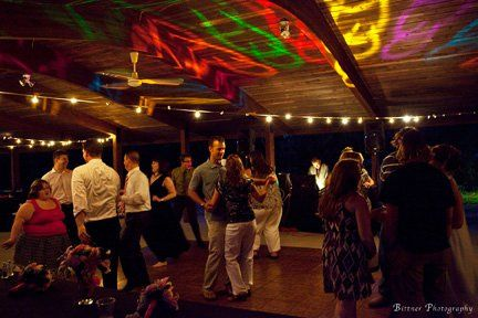 Dance until the all hours at High Point Farm, featuring  covered pavilions to accommodate groups of...