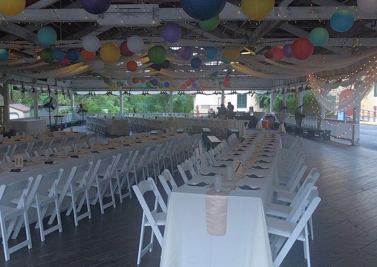 Long tables setup