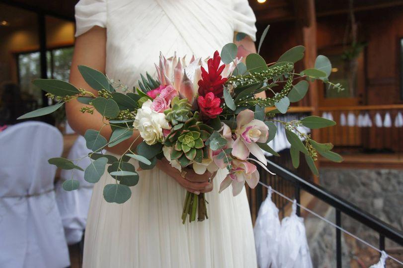 melissa kahill bridal bouquet