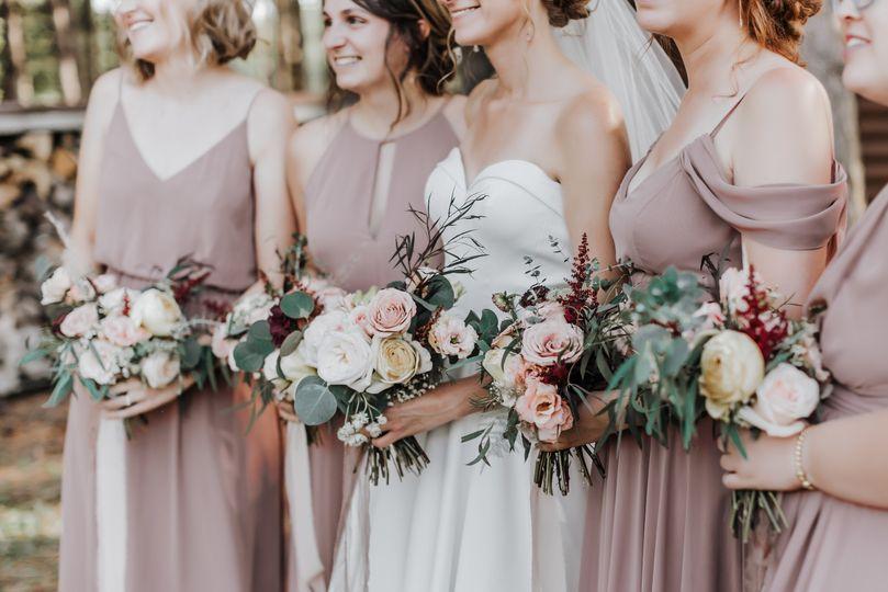 Wedding bouquets - Gordon Bubolz Nature Preserve