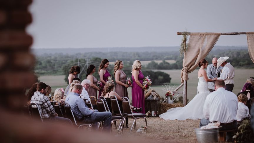 Outdoor ceremonies are a must
