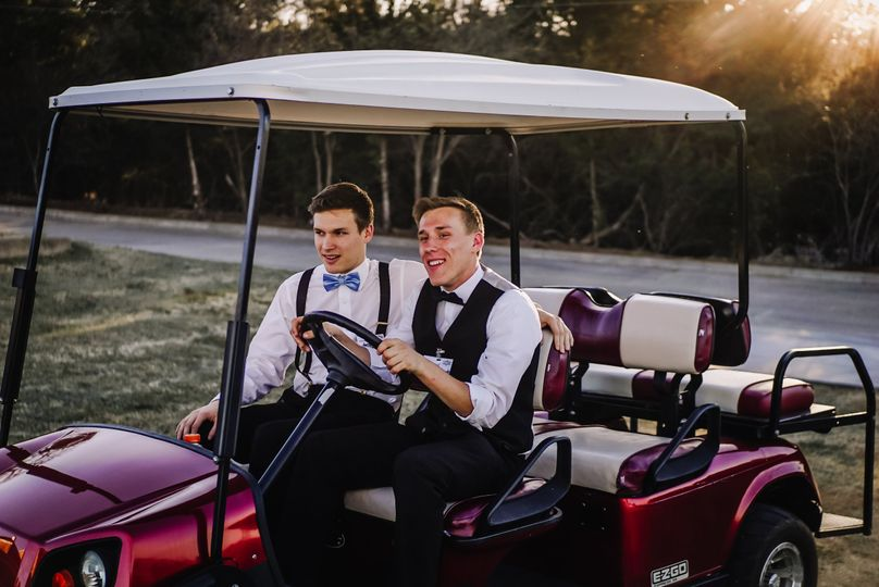 Golf cart service available