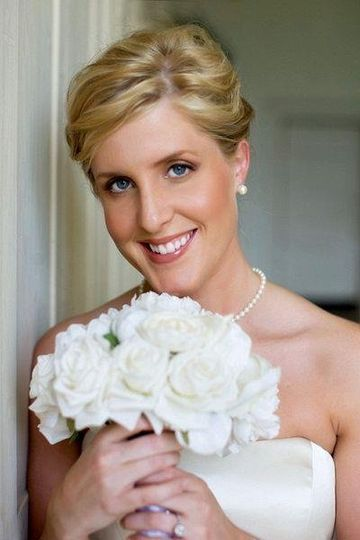 bridal hair & makeup by Sharon