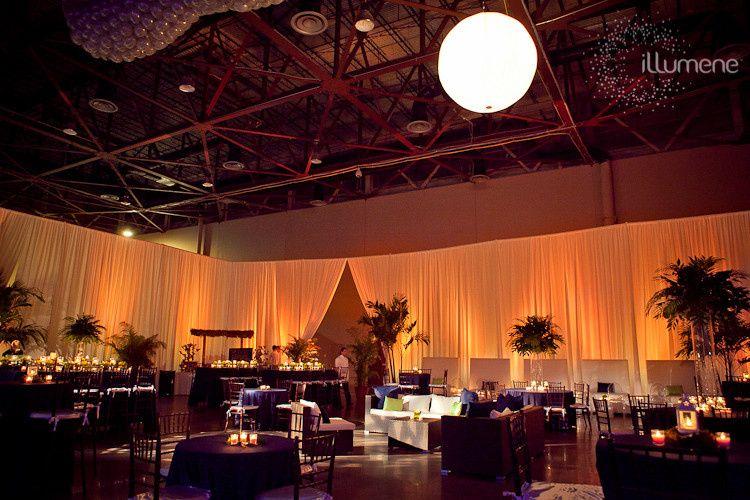 Magic City Casino wedding reception area