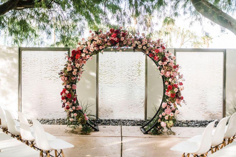 Vaso Bello Ceremony Arch