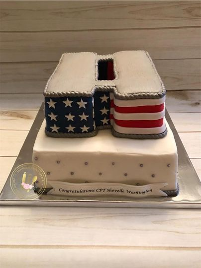 Army Captain Promotion Cake